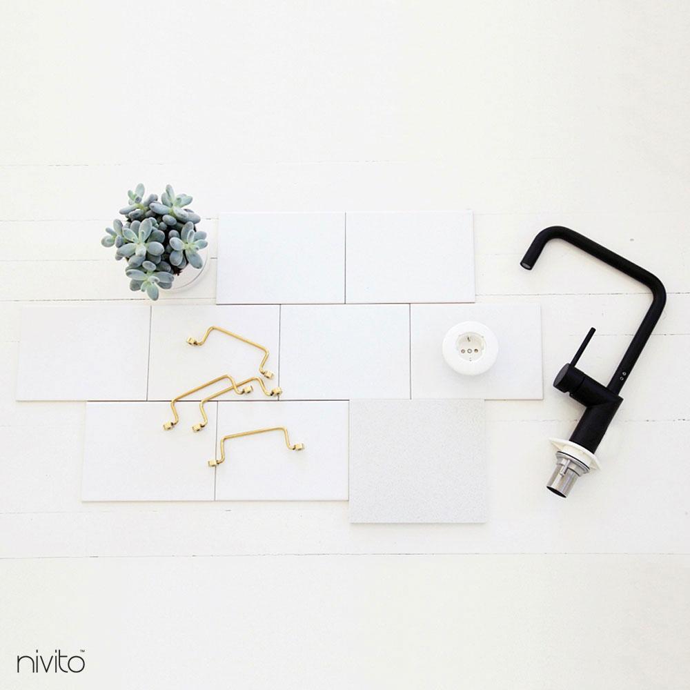 Black Mixer Tap - Nivito 19-RH-320