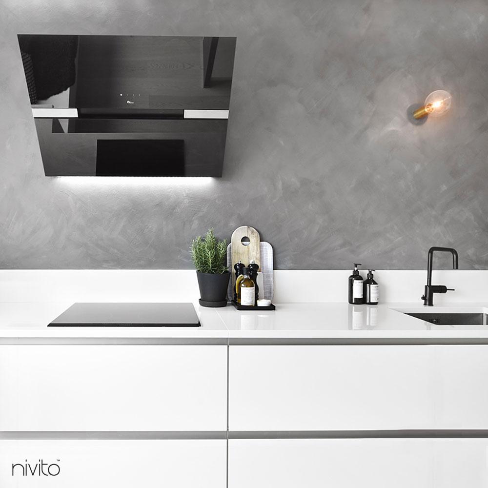 Black Mixer Tap - Nivito 3-RH-320