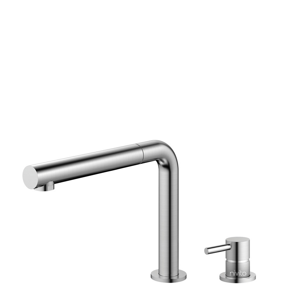 Stainless Steel Tap Pullout hose / Seperated Body/Pipe - Nivito RH-600-VI