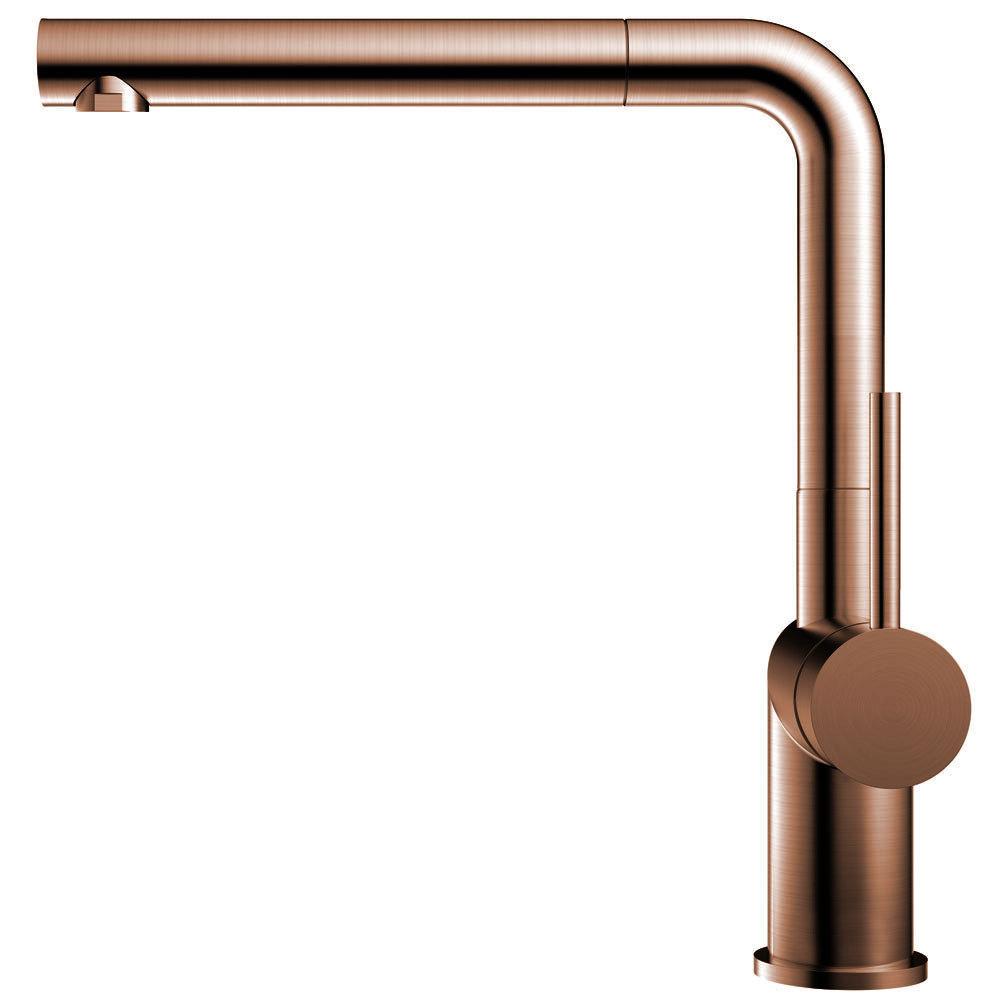 Copper Kitchen Sink Mixer Tap Pullout hose - Nivito RH-650-EX