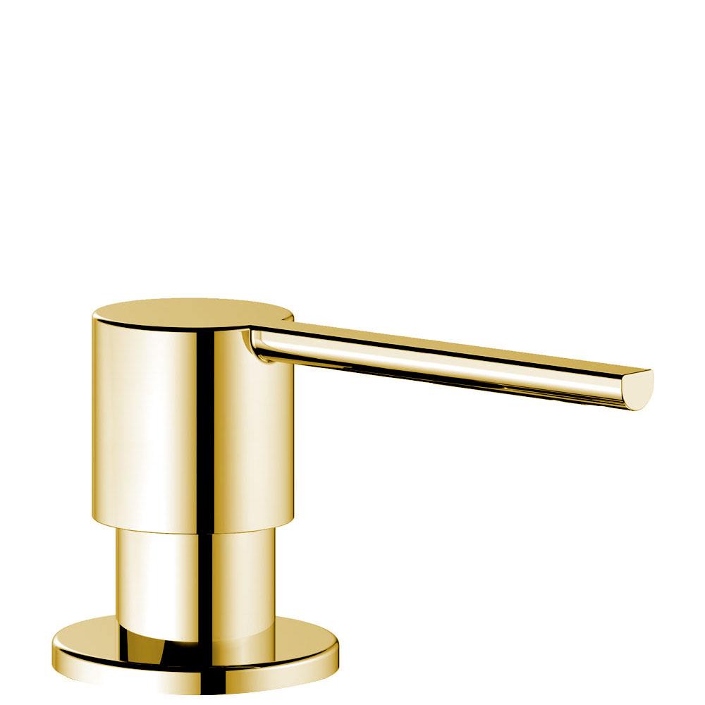 Brass/Gold Soap Dispenser - Nivito SR-PB