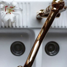Copper Kitchen Mixer Tap - Nivito 3-CL-170