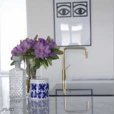 Gold brass tapware tap