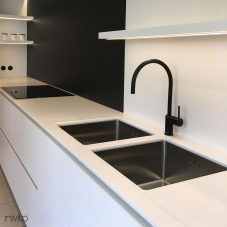 Black kitchen tapware tap