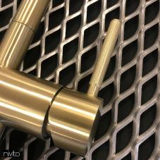 Brass/Gold Kitchen Mixer Tap - Nivito 2-RH-340-IN