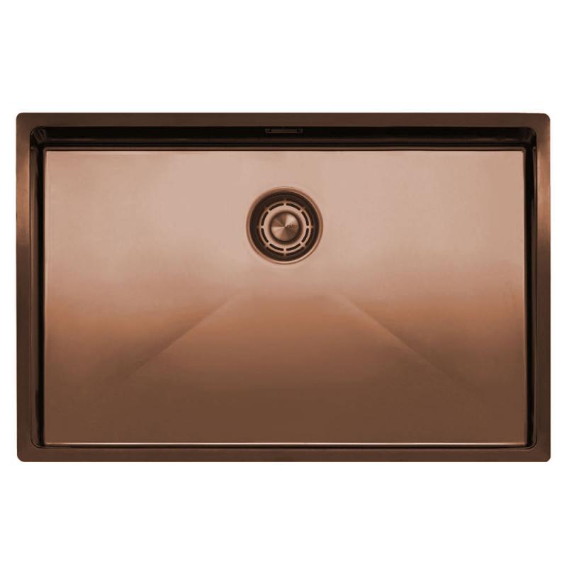 Copper Kitchen Sink - Nivito CU-700-BC