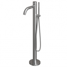 Stainless Steel Stand Alone Bathtub Bathroom Tap - Nivito CR-10