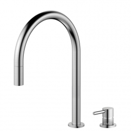 Stainless Steel Kitchen Tap Pullout hose / Seperated Body/Pipe - Nivito RH-100-VI